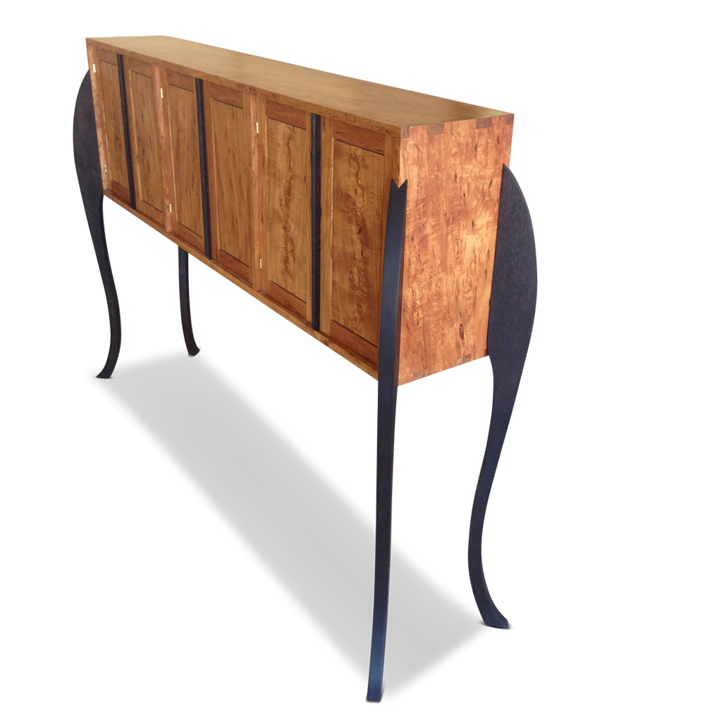 Custom Made Buffet sideboard with Tasmanian Blackwood and Wenge