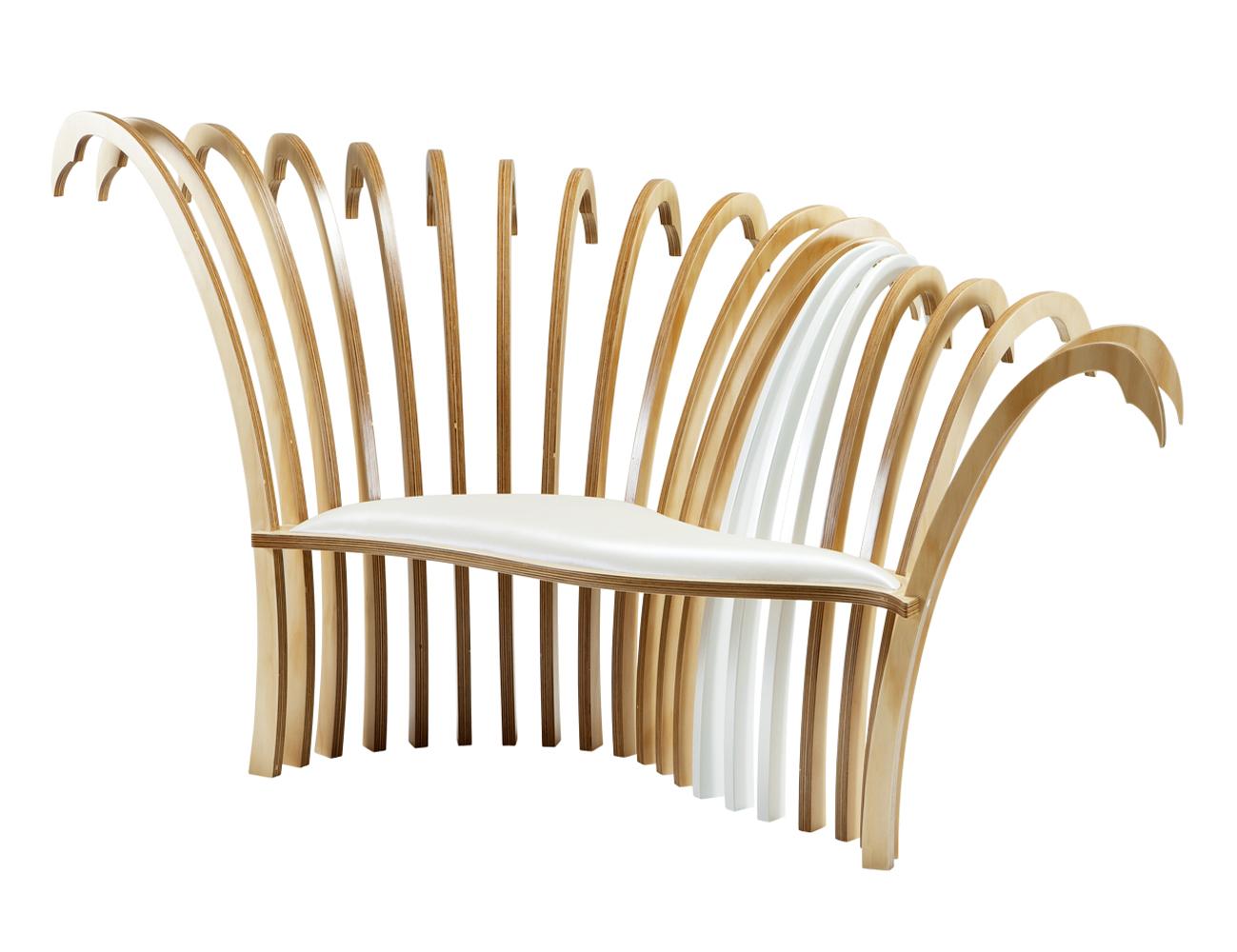 Little Cove A Custom Handmade Modern Avant Garde Art Deco Statement Chair