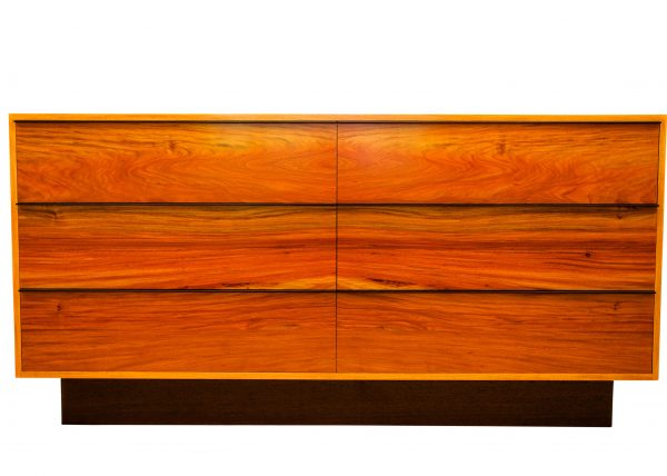 Custom Made Furniture Handmade From Solid Timber Rosewood & Wenge Credenza Cupboard Buffet by Will Marx
