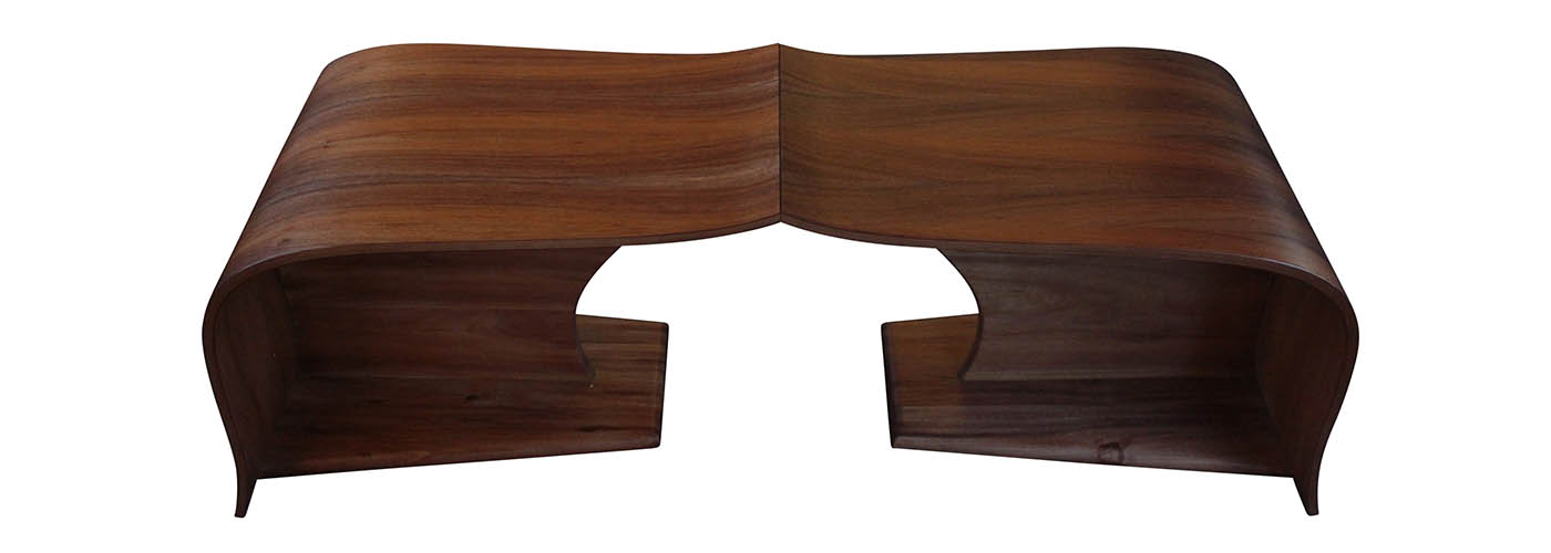 Solid Timber Vine Coffee Table by Will Marx